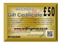 Red Frog £50 Gift Certificate